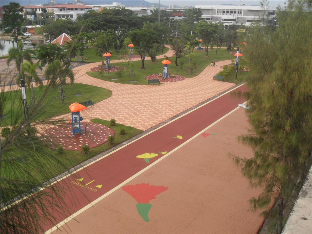 สวนเฉลิมพระเกียรติ 80 พรรษา จ.ชลบุรี
